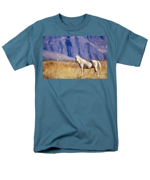 Mustang T-Shirt by Mark Newman and Photo Researchers