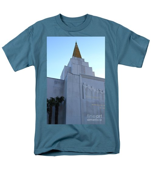 Oakland California Temple . The Church of Jesus Christ of Latter-Day Saints . 7D11364 T-Shirt by Wingsdomain Art and Photography