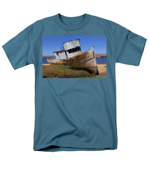 Point Reyes beached boat T-Shirt by Garry Gay