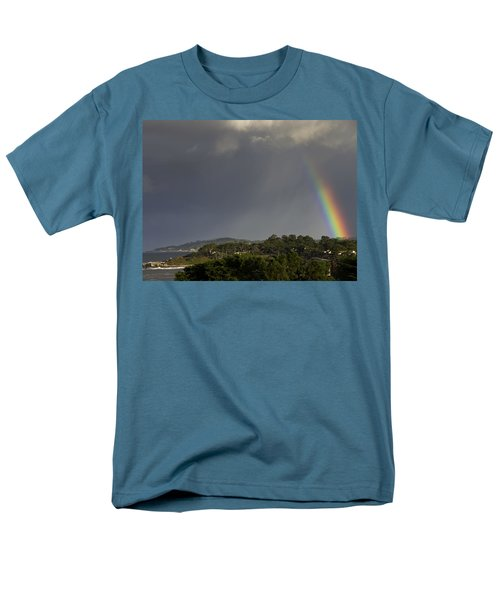 Rainbow Over Carmel T-Shirt by Mike Herdering