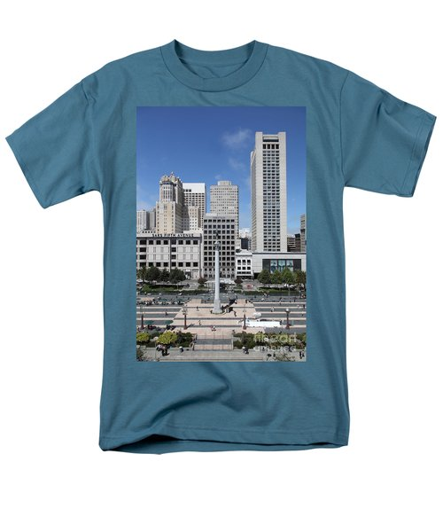 San Francisco - Union Square - 5D17941 T-Shirt by Wingsdomain Art and Photography