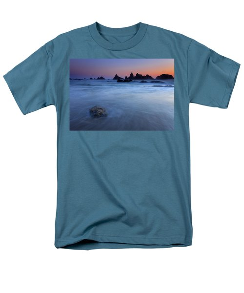 Seal Rock Dusk T-Shirt by Mike  Dawson