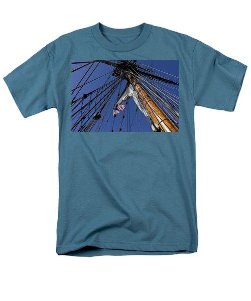 Tall Ship Rigging T-Shirt by Garry Gay