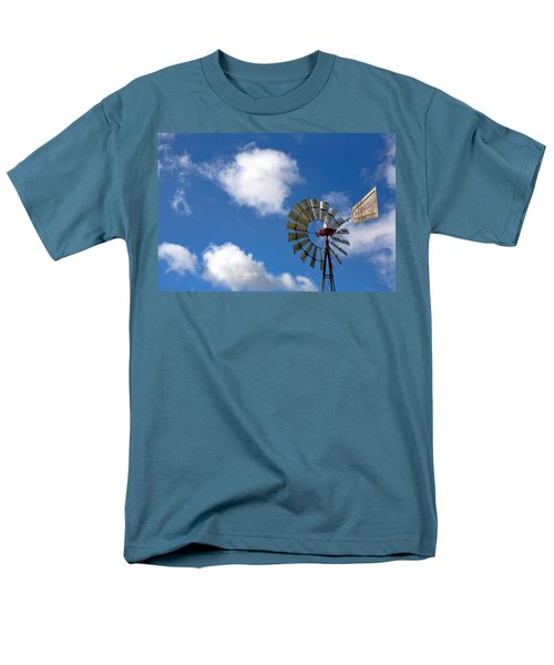 Temecula Wine Country Windmill T-Shirt by Peter Tellone
