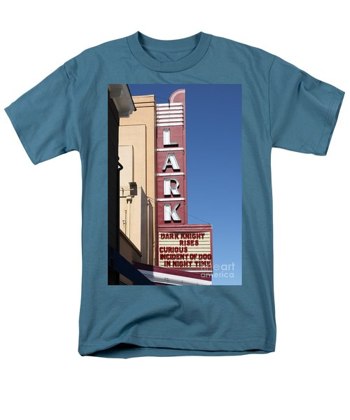 The Lark Theater in Larkspur California - 5D18490 T-Shirt by Wingsdomain Art and Photography