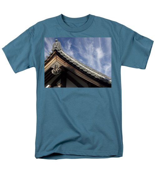TOSHODAI-JI TEMPLE ROOF GARGOYLE - NARA JAPAN T-Shirt by Daniel Hagerman