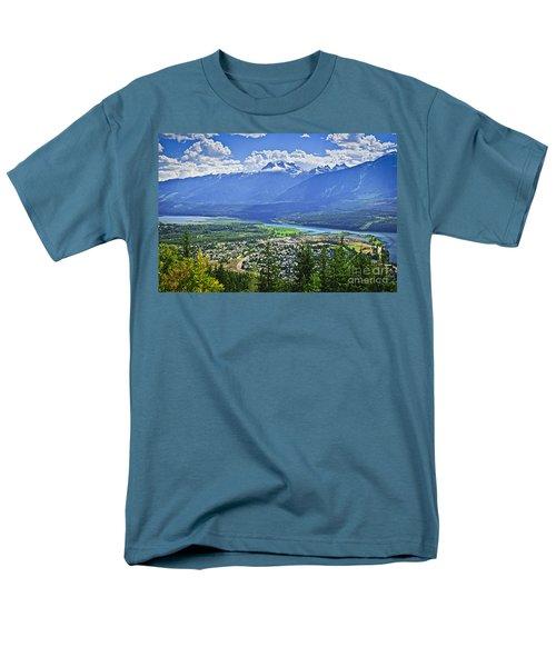 View of Revelstoke in British Columbia T-Shirt by Elena Elisseeva