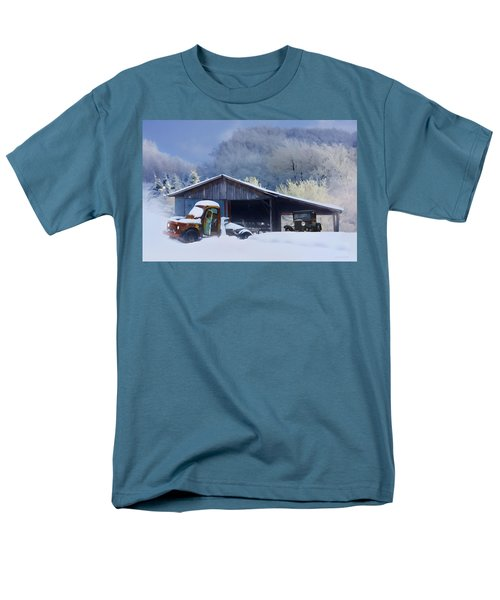 Winter Shed T-Shirt by Ron Jones