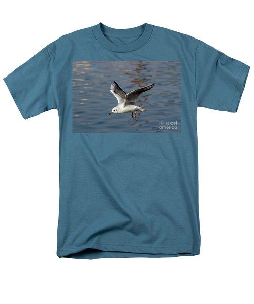 flying gull T-Shirt by Michal Boubin