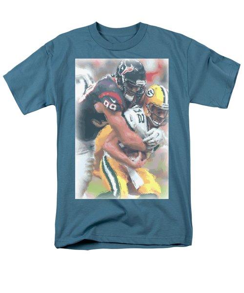 Houston Texans Jj Watt Men's T-Shirt  (Regular Fit) by Joe Hamilton
