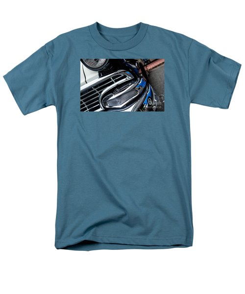 Men's T-Shirt  (Regular Fit) featuring the photograph 1958 Ford Crown Victoria Reflection 2 by M G Whittingham