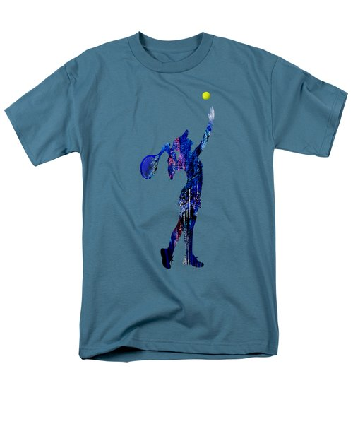 Womens Tennis Collection Men's T-Shirt  (Regular Fit) by Marvin Blaine
