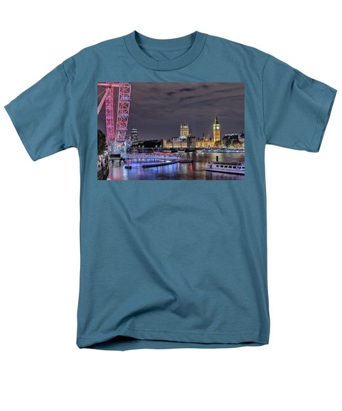 Westminster - London Men's T-Shirt  (Regular Fit) by Joana Kruse