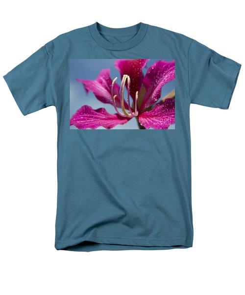 Bauhinia Purpurea - Hawaiian Orchid Tree T-Shirt by Sharon Mau