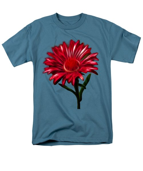 Red Daisy Men's T-Shirt  (Regular Fit) by Shane Bechler