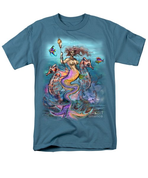 Mermaid Men's T-Shirt  (Regular Fit) by Kevin Middleton