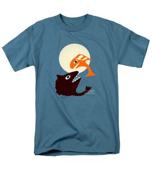 Magic Fish Men's T-Shirt  (Regular Fit) by Anastasiya Malakhova