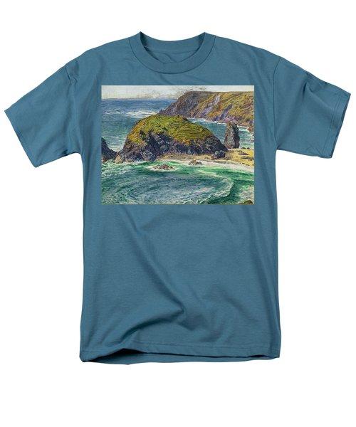 Asparagus Island Men's T-Shirt  (Regular Fit) by William Holman Hunt