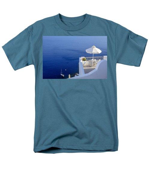 balcony over the sea T-Shirt by Joana Kruse