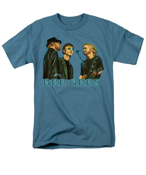 Bee Gees Men's T-Shirt  (Regular Fit) by Paintings by Gretzky