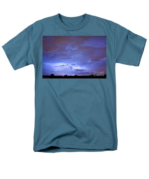 Big sky with small lightning strikes in the distance T-Shirt by James BO  Insogna