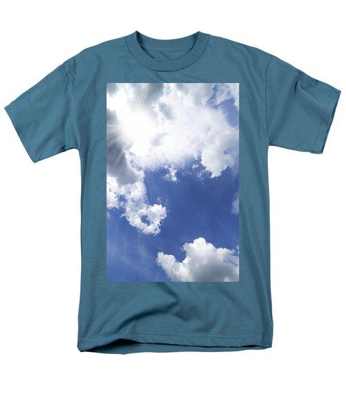 blue sky and cloud T-Shirt by Setsiri Silapasuwanchai