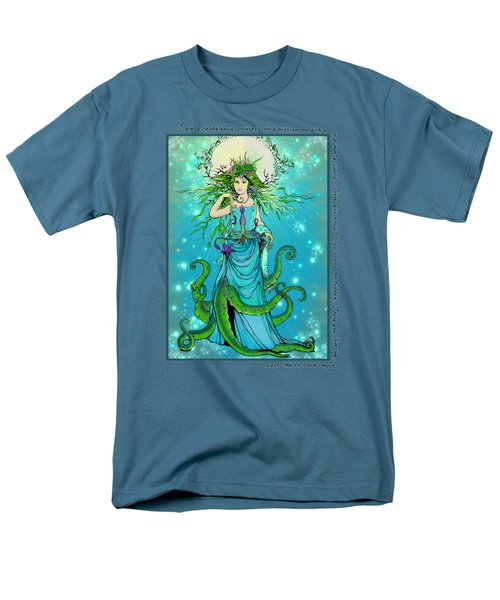 Cephalopod Princess Men's T-Shirt  (Regular Fit) by Katherine Nutt
