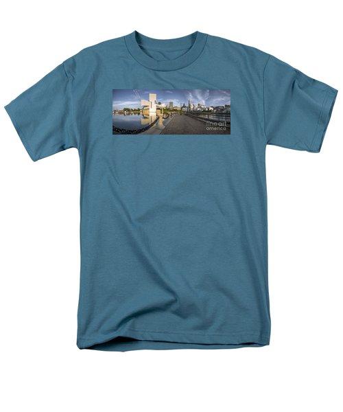 Cleveland Panorama Men's T-Shirt  (Regular Fit) by James Dean