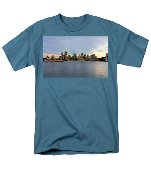 Cruiseship Sunset Men's T-Shirt  (Regular Fit) by Petar Belobrajdic