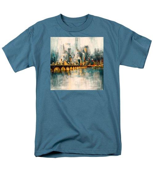 Dallas Skyline 217 3 Men's T-Shirt  (Regular Fit) by Mawra Tahreem