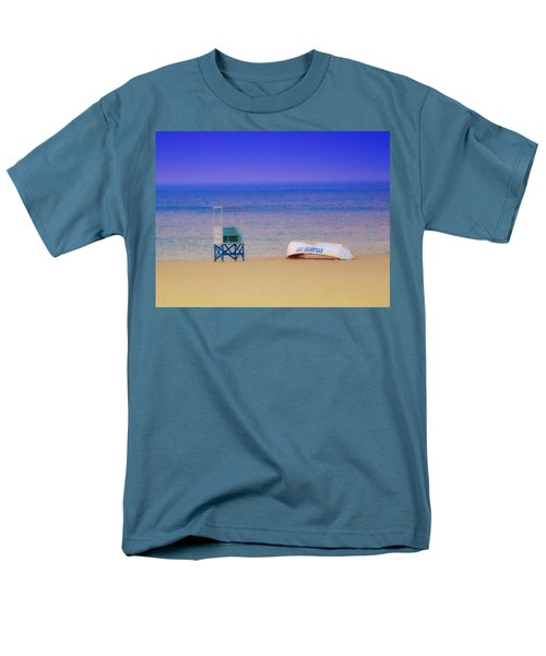 Deserted Beach T-Shirt by Bill Cannon