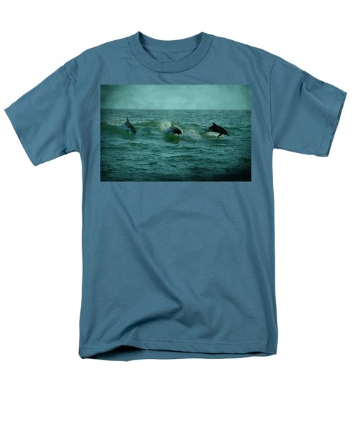 Dolphins T-Shirt by Sandy Keeton