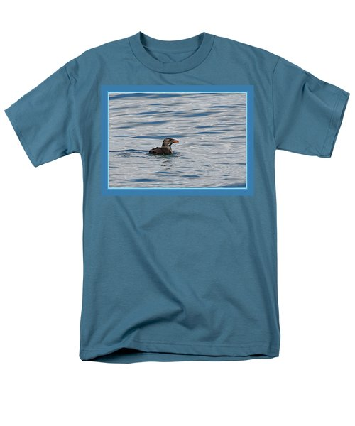 Floating Rhino Men's T-Shirt  (Regular Fit) by BYETPhotography