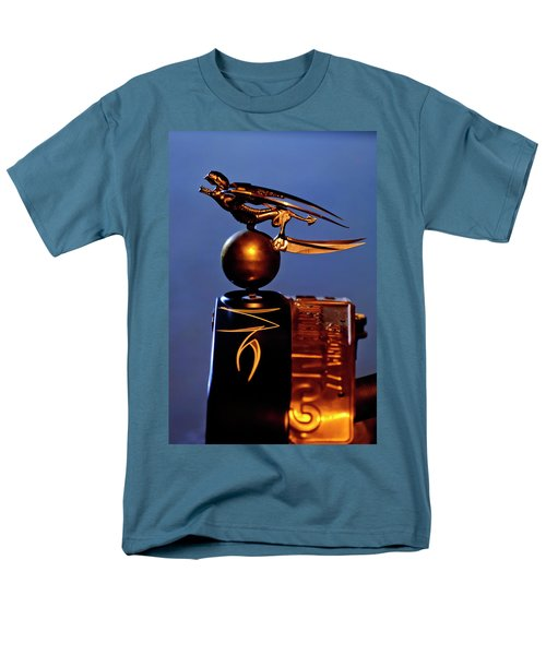 Gargoyle Hood Ornament 3 T-Shirt by Jill Reger