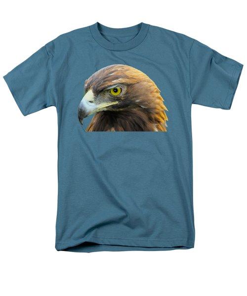 Golden Eagle Men's T-Shirt  (Regular Fit) by Shane Bechler