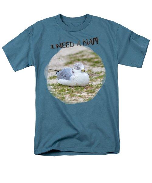 Gull Nap Time Men's T-Shirt  (Regular Fit) by John M Bailey