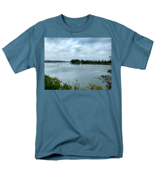 Harpswell, Maine No. 1 Men's T-Shirt  (Regular Fit) by Sandy Taylor