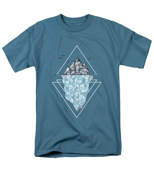 Iceberg Men's T-Shirt  (Regular Fit) by Barlena