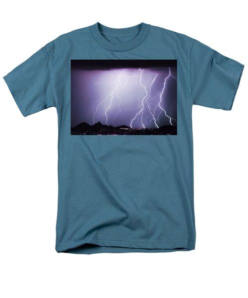 Lightning Storm North Scottsdale AZ 85255 T-Shirt by James BO  Insogna