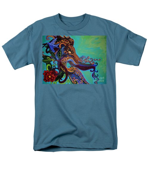 Lion Gargoyle T-Shirt by Genevieve Esson