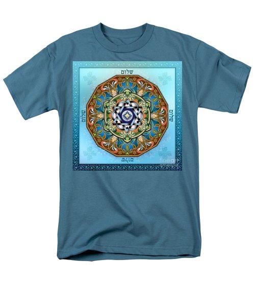 Mandala Shalom T-Shirt by Bedros Awak