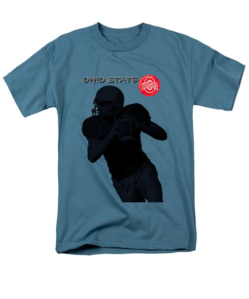 Ohio State Football Men's T-Shirt  (Regular Fit) by David Dehner
