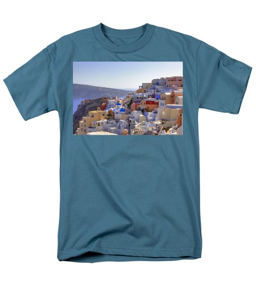 Oia - Santorini T-Shirt by Joana Kruse