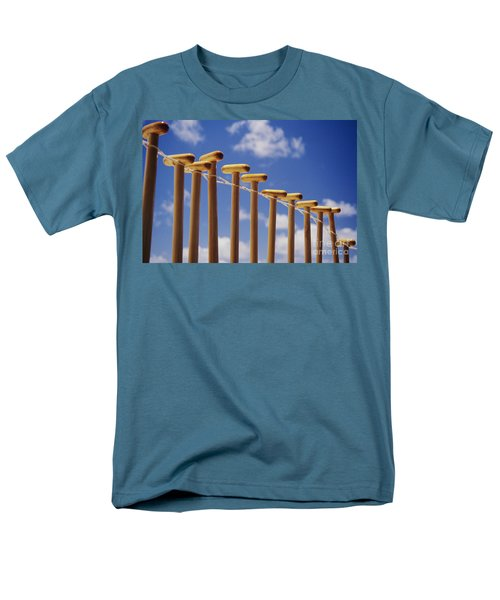Paddles Hanging In A Row T-Shirt by Joss - Printscapes