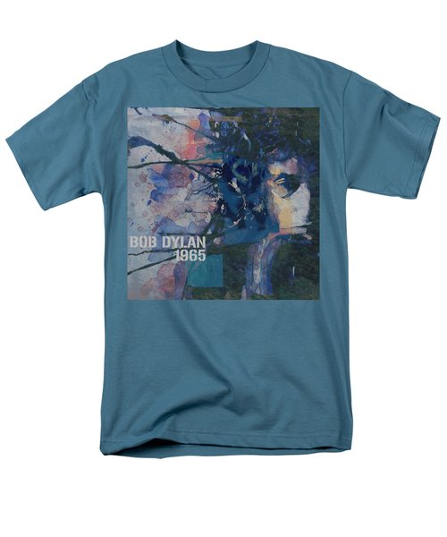 Positively 4th Street Men's T-Shirt  (Regular Fit) by Paul Lovering