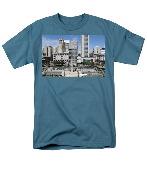 San Francisco - Union Square - 5D17938 T-Shirt by Wingsdomain Art and Photography