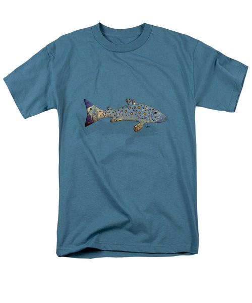 Sea Trout Men's T-Shirt  (Regular Fit) by Mikael Jenei
