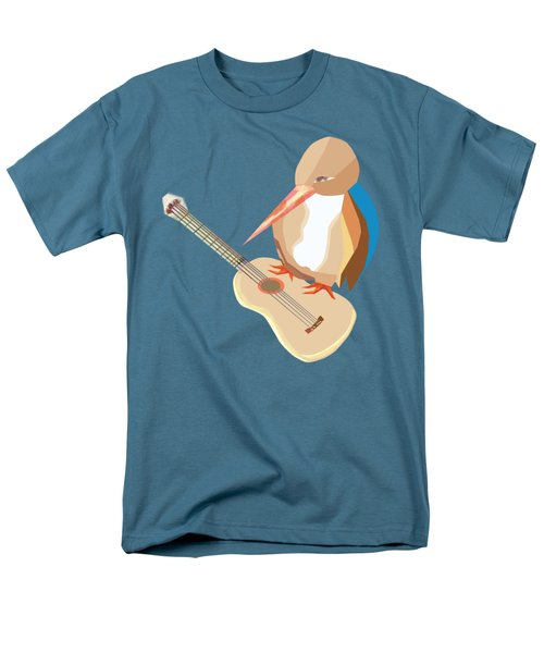 Shall Strum The Strings Unto The Lord D Men's T-Shirt  (Regular Fit) by Thecla Correya