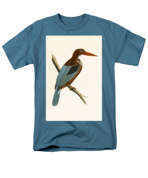 Smyrna Kingfisher Men's T-Shirt  (Regular Fit) by English School