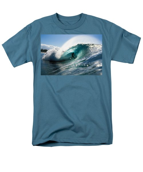 Surfer At Pipeline T-Shirt by Vince Cavataio - Printscapes